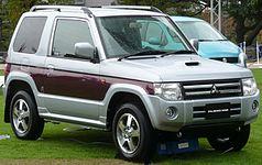 Kei car wikipdia a enciclopdia livre mitsubishi pajero mini fandeluxe Gallery