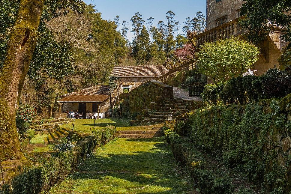Palace of Faramello, Rois, Galicia (Spain)