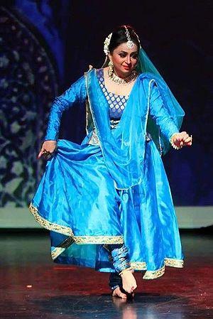 Pali Chandra - Pali Chandra performing as Navinayika in Dubai, October 2015. Photo Credit: Gurukul Dubai