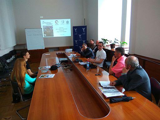 Pamyatky Ukrainy Presentation in Vinnytsia 1