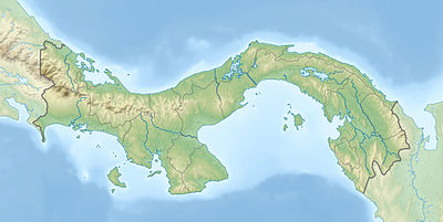 Location map Panama