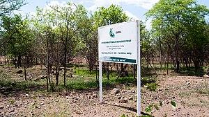 Mpandamatenga - Pandamatenga Border Post Sign