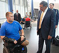 Panetta visits SAMMC, Center for the Intrepid 120627-N-UR169-005.jpg