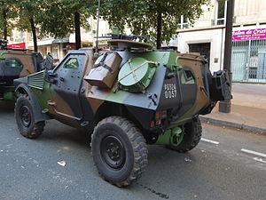 Panhard VBL (Vèhicule Blindé Legér), French army licence registration '6924 0057' pic3.JPG