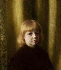 Portrait of Stefan Polczyński (Portrait of a child).