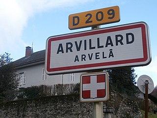 Arvillard Commune in Auvergne-Rhône-Alpes, France