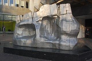 <i>Piscator</i> (Paolozzi) sculpture by Eduardo Paolozzi