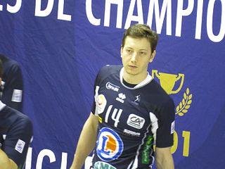 Adam Bartoš Czech volleyball player