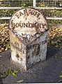 Parish Boundary Stone near Newstead Mill - geograph.org.uk - 607865.jpg