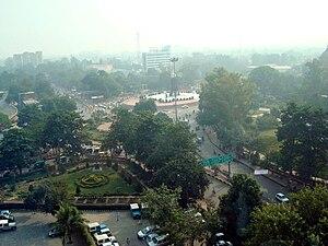 Hazratganj - 'Parivartan Chowk' in Hazratganj, Lucknow