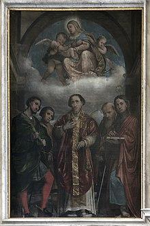 Parrocchiale San Felice del Benaco pala del Romanino.jpg