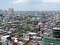 Pasay area - slums and residential area in F.B. Harrison area (aerial shot from Legzspi Towers 300) (Pasay; 2015-06-25).jpg