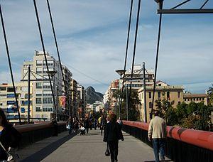 Passarella дель Passeig Германий де Gandia.JPG