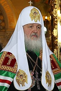 Patriarch of Moscow and all Rus Maximum leader of the Russian Orthodox Church