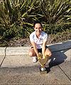 Patricia amb copa 2014.jpg