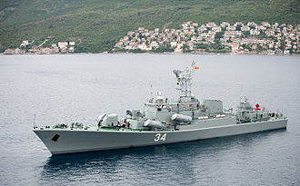 Armed Forces of Montenegro - Kotor class Frigate
