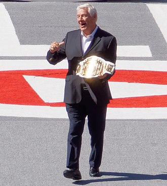 WWE Intercontinental Championship - Pat Patterson, inaugural Intercontinental Heavyweight Champion and WWE Hall of Famer