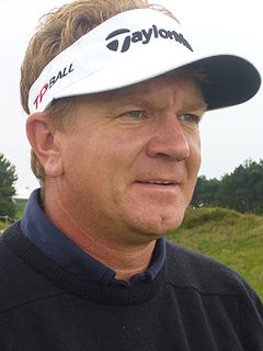 Paul Broadhurst professional golfer