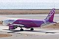Peach Aviation ,MM213 ,Airbus A320-214 ,JA801P ,Departed to Naha ,Kansai Airport (16668221995).jpg