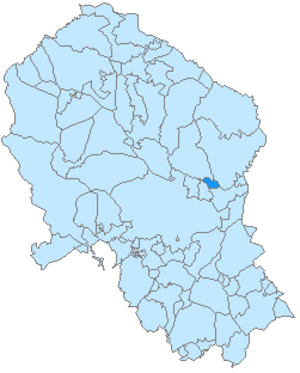 Pedro Abad - Image: Pedro Abad mapa