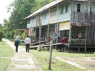 Sebauh - Labang town, Sebauh Sub-District