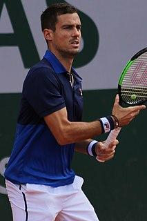 Guido Pella Argentine tennis player