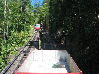 Penang Hill - Penang Hill Railway passing loop