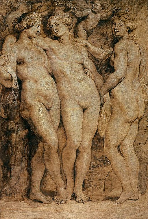 Peter Paul Rubens - The Three Graces - WGA20440