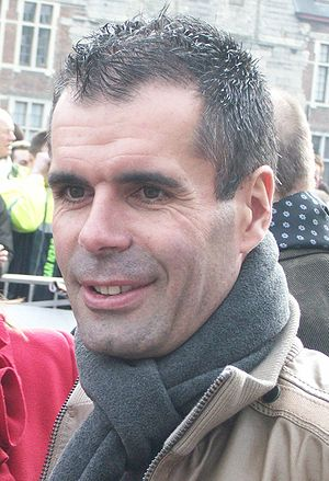 Peter Van Petegem - Van Petegem at the 2009 Omloop Het Nieuwsblad