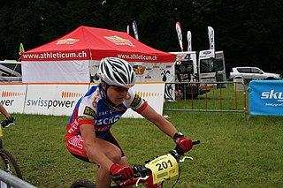 Petra Henzi Swiss mountain biker