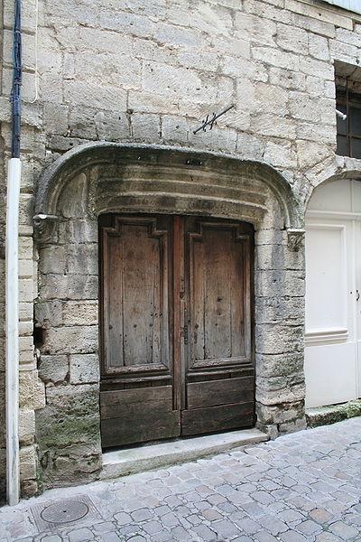 Pézenas (Hérault) - Rue de la Foire - Porte 2.