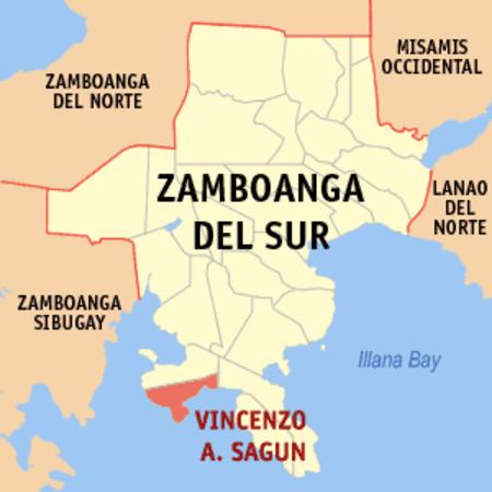 Vincenzo A. Sagun, Zamboanga Selatan