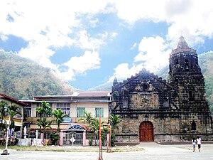 Paete - The Saint James the Apostle Parish Church simply known as Paete Church