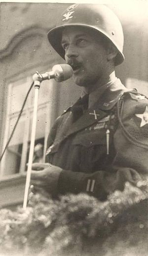 Philip De Witt Ginder - Ginder as a Colonel at the end of the World War II.