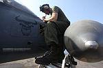 Photo Essay, Aircraft maintenance aboard amphibious shipping keeps U.S. Marines mission readyBy, Capt. Robert Shuford 120929-M-TK324-001.jpg