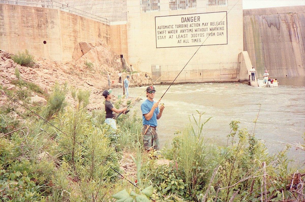 Tailrace fishing - Wikipedia