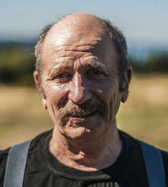 Jeffrey Rubinoff - 2015 Photo of Sculptor Jeffrey Rubinoff