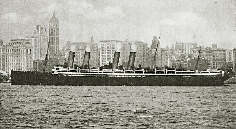 File:Photo of the SS Kronprinzessin Cecilie in New Yorlk.jpg