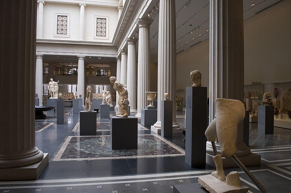 Photograph of the New Roman Gallery at the Metropolitan%E2%80%94New York City