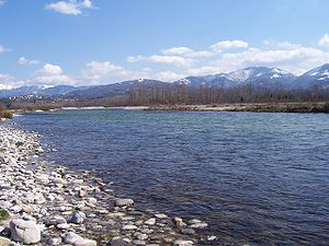 Piave (river) - The Piave river.