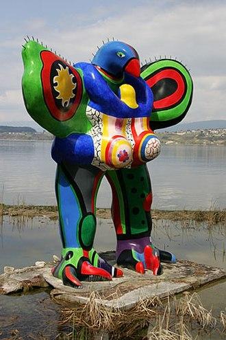 Niki de Saint Phalle - Oiseau Amoureux (1993)