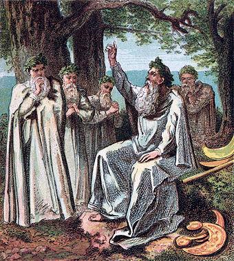 kleiner bestand dem gott donar geweihten baum