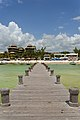 Pier - Playa del Carmen, Mexico - August 15, 2014 - panoramio.jpg