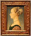Piero del pollaiolo, ritratto di giovane donna, 1470-75 ca. (poldi pezzoli) 01.JPG