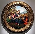 Piero di cosimo, madonna col bambino e tre angeli, diam. 82 cm, milano, collezione borromeo-conti, 01.JPG