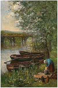 Piet Mondriaan - Vinkenbrug te Diemen - A281 - Piet Mondrian, catalogue raisonné.jpg