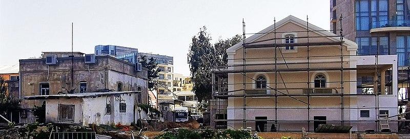 בתים בשביל האטד בתל אביב