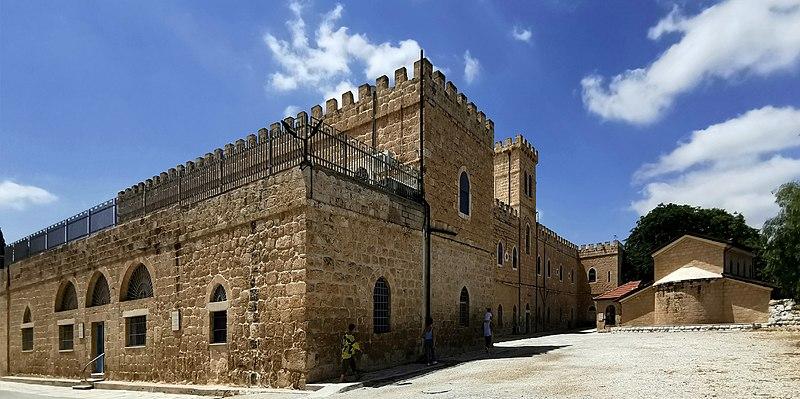במתחם מנזר בית ג'אמל