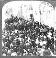 Pilgrims on the via Dolorosa (Route of the Cross), Jerusalem around 1880 (3).jpg