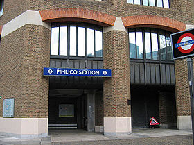 image illustrative de l'article Pimlico (métro de Londres)